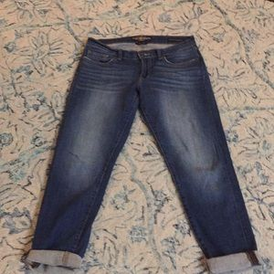 Lucky Brand sienna cigarettes jeans